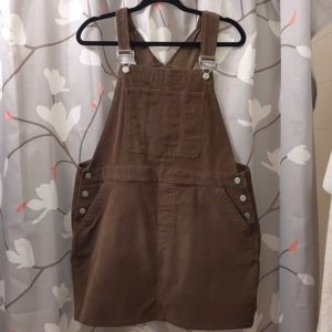 Gap Cord Overall Dress